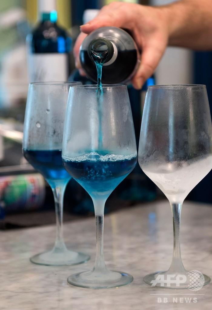 「青ワイン」で業界に新風、スペイン学生スタートアップ企業の冒険