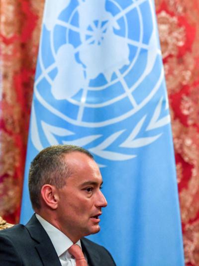 国連中東特使が「越権行為」、パレスチナ自治政府高官が非難
