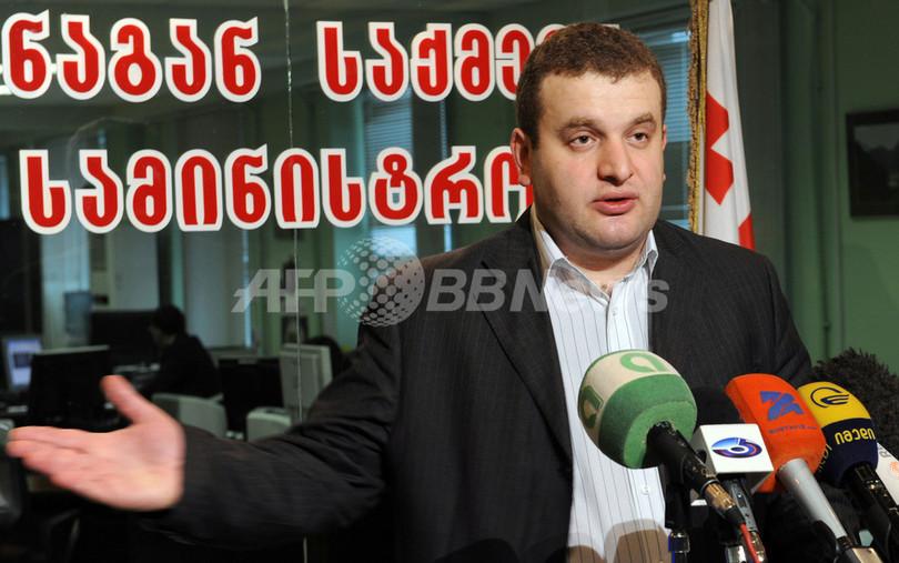 グルジアでクーデター未遂か、内務省「大統領の暗殺計画も」
