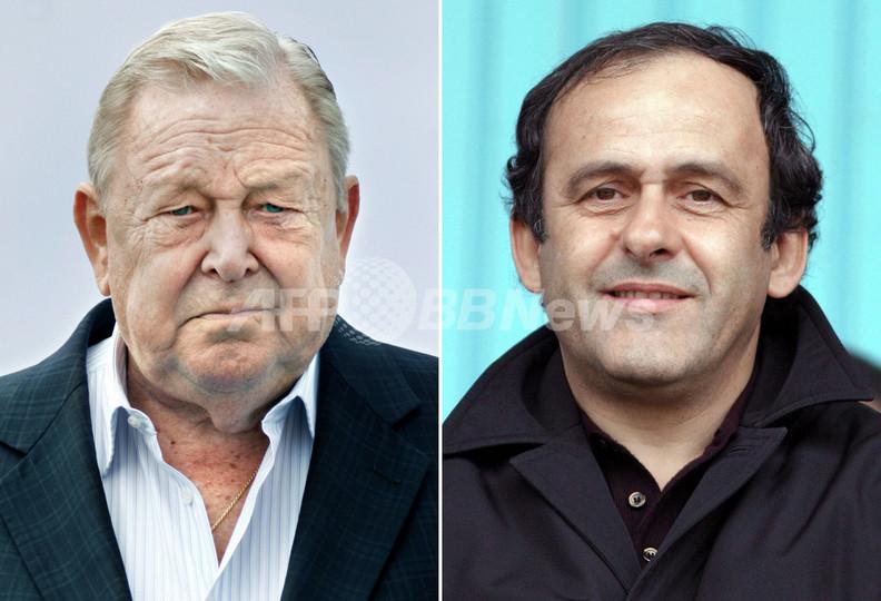 <サッカー>プラティニ氏 会長選対立候補のヨハンソン氏を激しく批難 - フランス