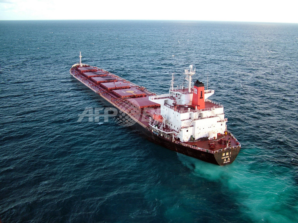 「重油流出は深刻ではない」、中国人船長の発言に地元州首相が反発 豪州