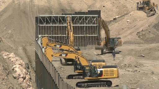 動画:米、民間による国境壁建設が起工 資金はトランプ支持者のネット寄付