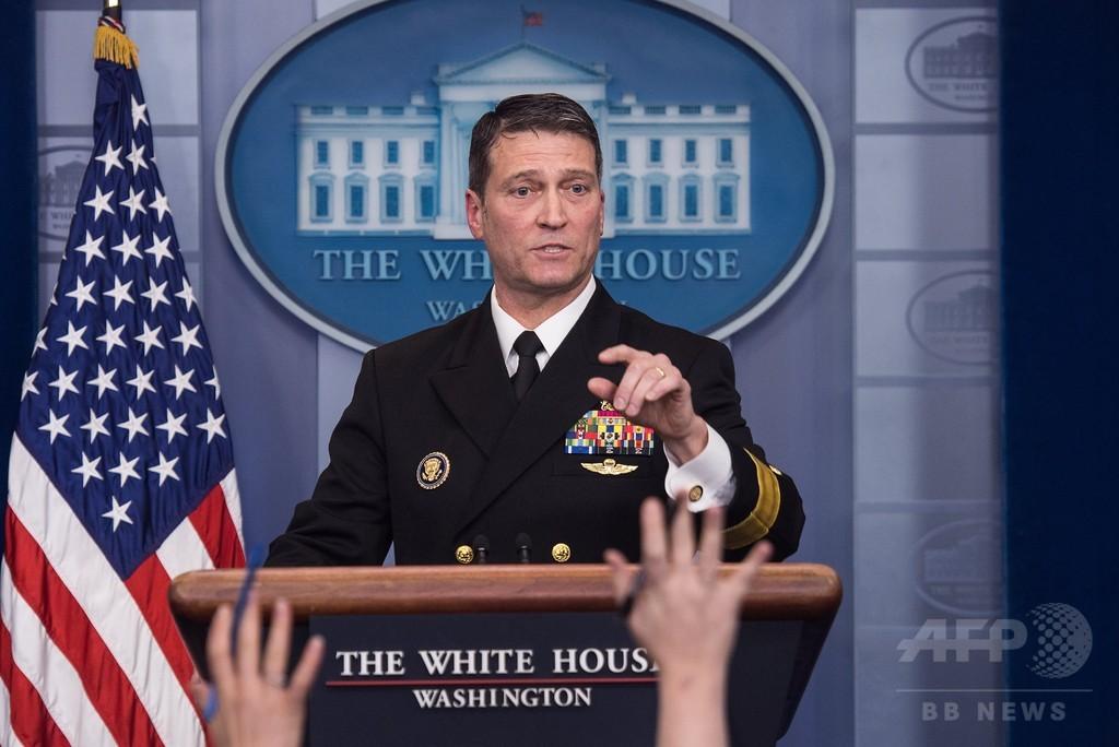 トランプ氏、退役軍人長官も更迭 後任に専属医