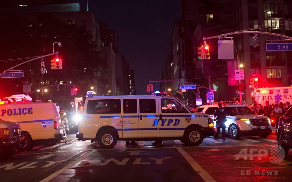 米ニューヨークで爆発、29人負傷
