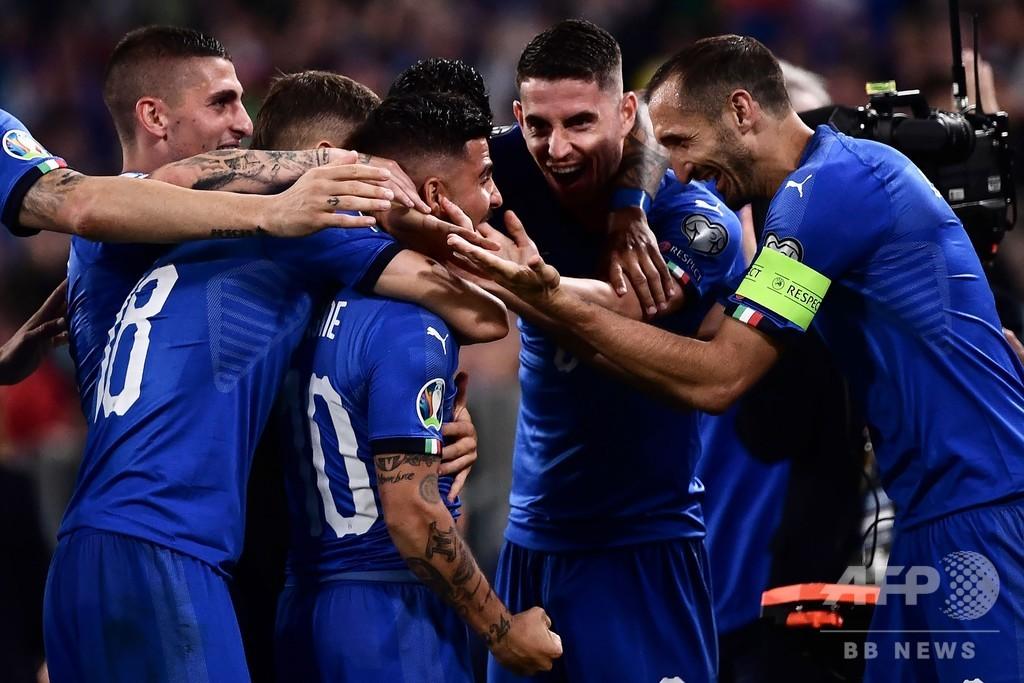 イタリアがボスニアに競り勝つ、ドイツは8発大勝 欧州選手権予選