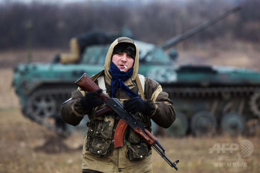「ウクライナで露軍戦車を見分ける方法」英大使館がツイッター投稿