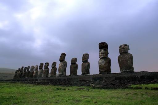 チリ、イースター島に人口規制策 環境保護や犯罪対策で