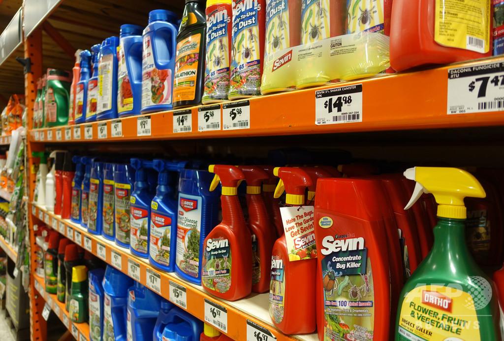 米国が使用する農薬、25%以上がEUで禁止されたもの 米論文