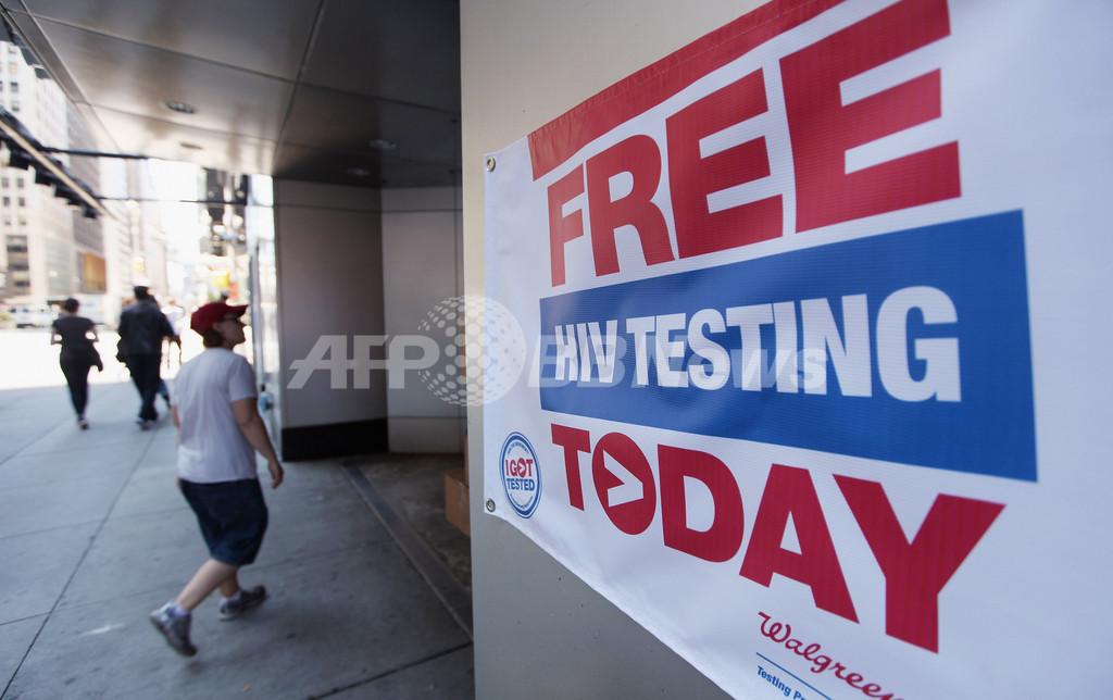 自宅HIV検査キットの販売を承認、米国