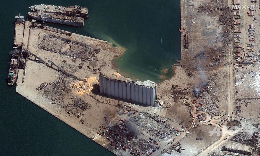 レバノン爆発の原因物質、インドの港にも約700トン 韓国から輸入