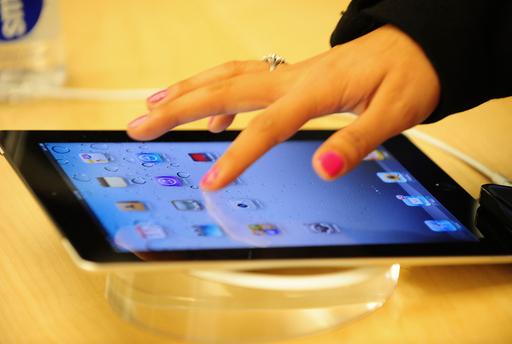 アップル、時価総額が一時米国トップに