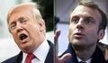トランプ氏、仏大統領の「欧州軍」構想を連続ツイートで非難