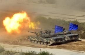 米韓、最大規模の合同実弾演習 兵士約3000人参加