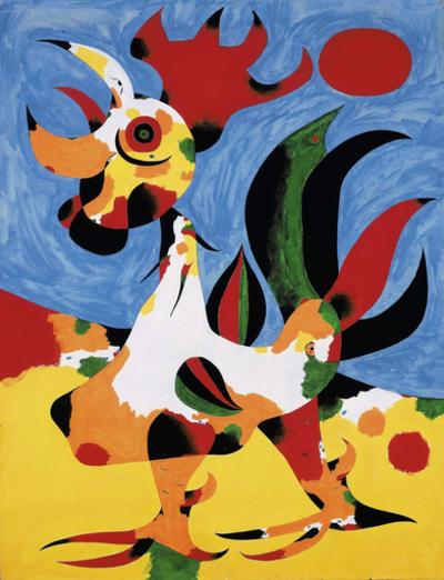 ジョアン・ミロの「Le Coq」、約1億6000万円で落札