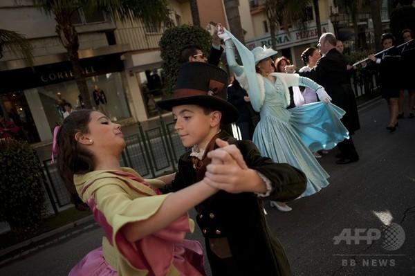 社交ダンスのパレード、スペイン