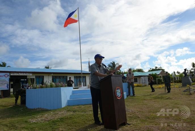 中国の沿岸警備隊、南沙諸島でフィリピン漁船に発砲か