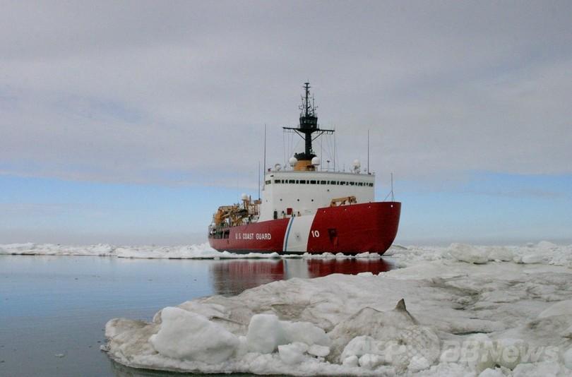 南極海、ロシア船乗客救助の中国船も立ち往生