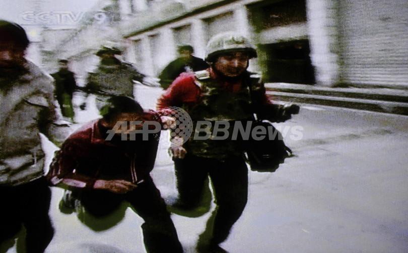 「暴徒が市民13人殺害」とチベット当局、武力鎮圧は否定