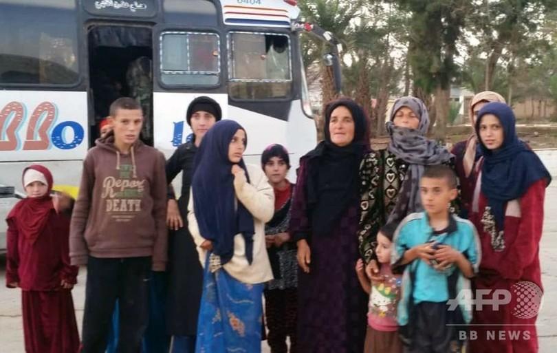 シリア、ドルーズ教徒をISから解放 7月に集団拉致