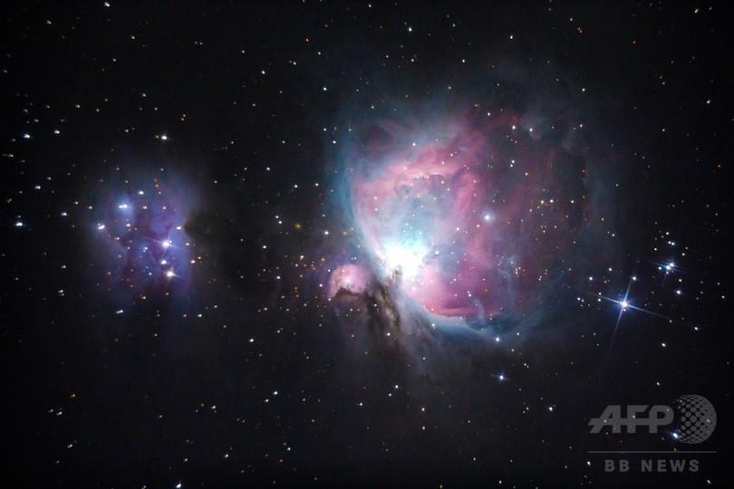 オリオン大星雲やプレアデス星団を観測、ミャンマー