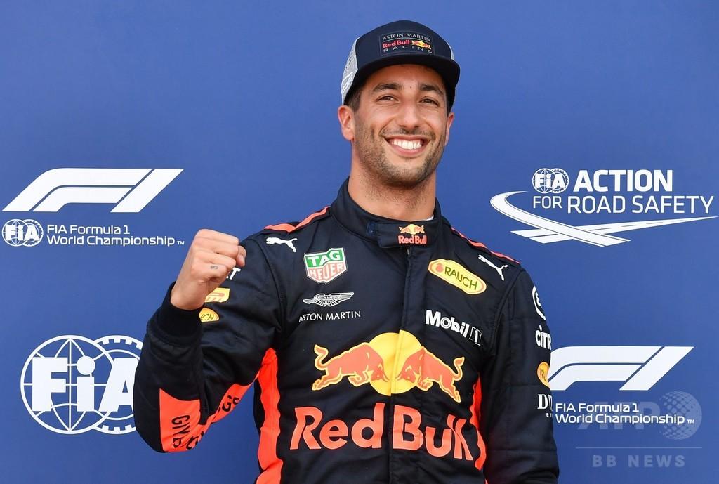 レッドブルのリカルドがポールポジション獲得、モナコGP