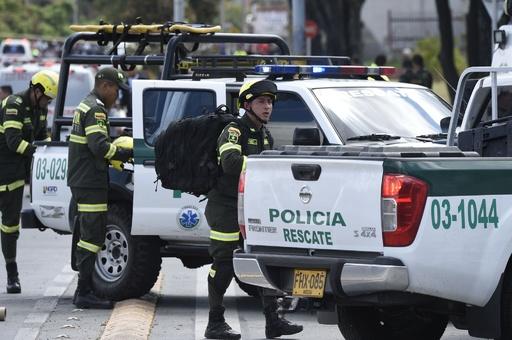 コロンビア首都で警察学校爆破、21人死亡68人負傷