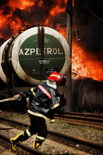 燃料輸送列車の爆発、グルジア側はロシアの関与を非難