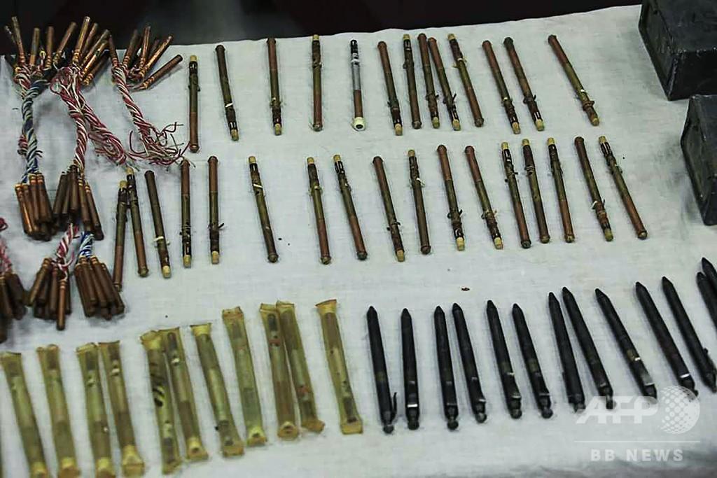 「ペン型銃」を押収、相次ぐ暗殺で使用か アフガン首都