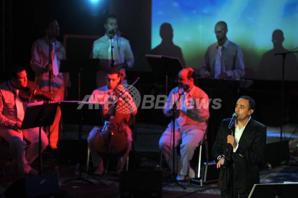 チュニジア人歌手がコンサート、アルジェリア