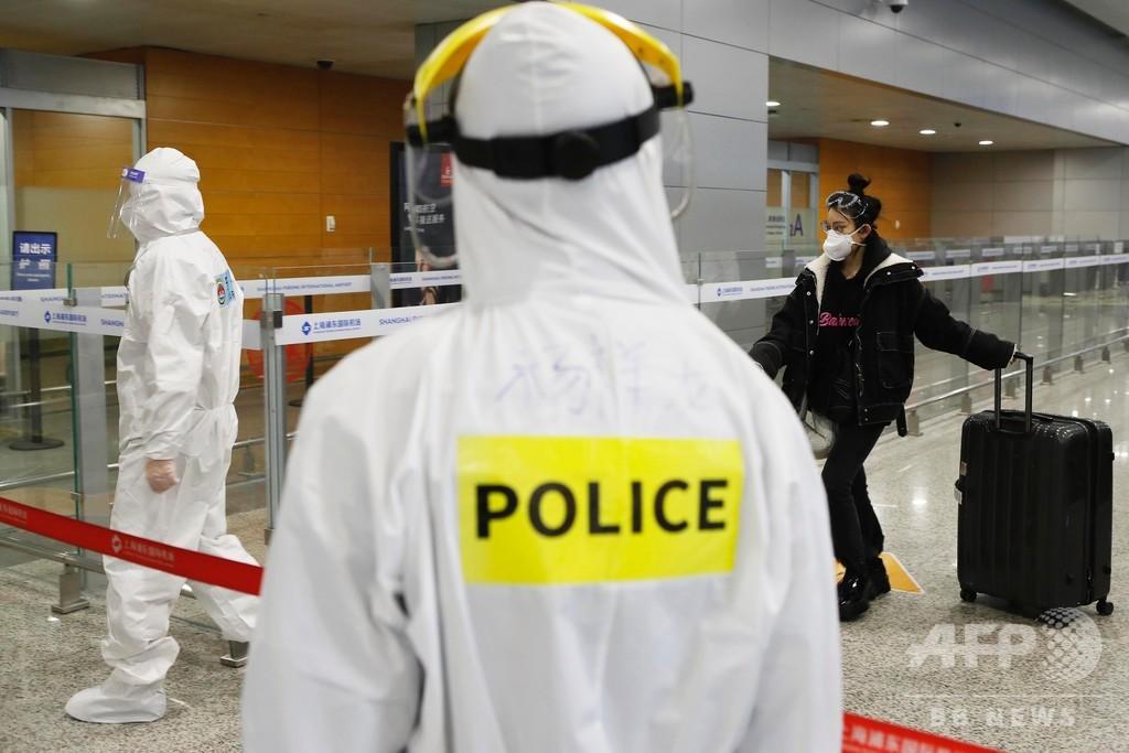 新型コロナ感染の外国人が看護師に暴行、治療後に逮捕へ 中国・広州