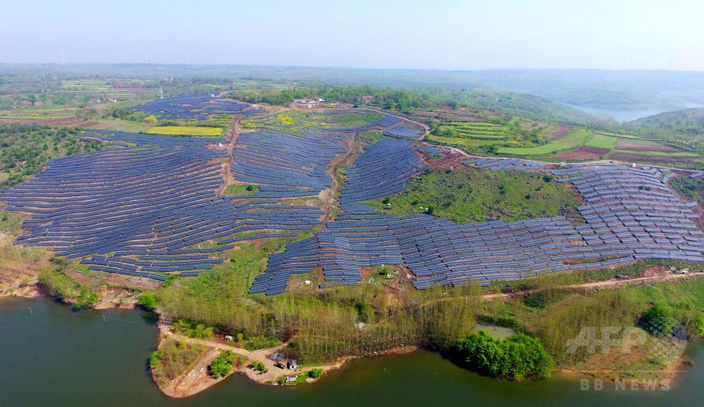 太陽光発電の「新時代」、再生可能エネルギーの成長に拍車 IEA