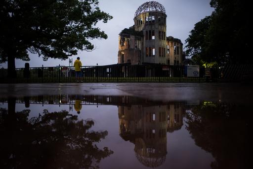 74回目の原爆忌、広島市長が核兵器禁止条約への署名求める
