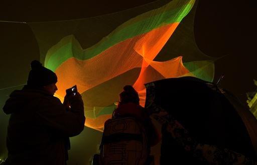 光のアート祭典「シグナル・フェスティバル」がプラハで開幕
