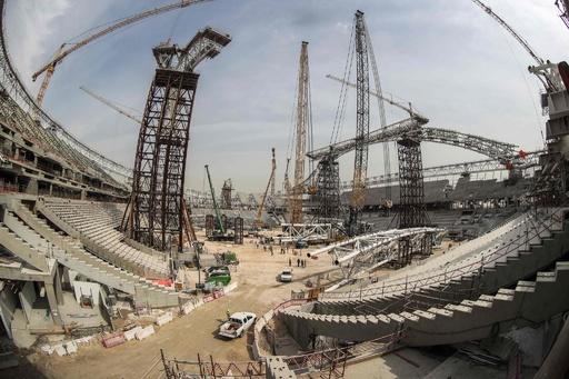 カタールW杯のスタジアムで作業員が死亡、大会主催者が発表