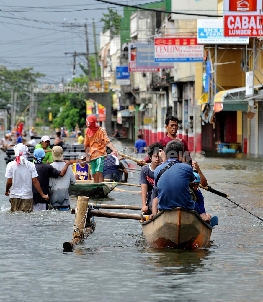 フィリピン大統領、コメ輸入を指示 2つの台風による農作物被害で