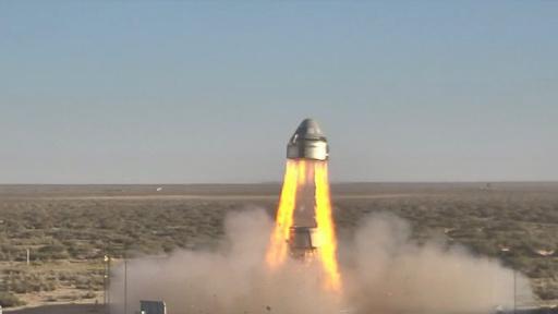 ボーイングのカプセル型有人宇宙船、実験でパラシュートの一つ開かず