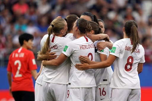 ノルウェーが決勝トーナメントへ、韓国は3連敗で敗退 女子W杯