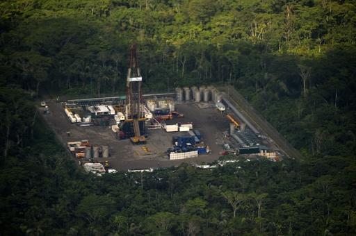 エクアドル、アマゾン自然保護区内で採油開始