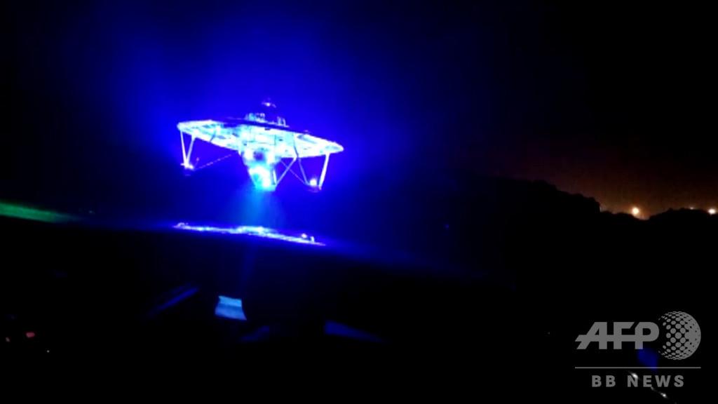 武漢市の空を飛ぶ「UFO」 作ったのは地球人ですが