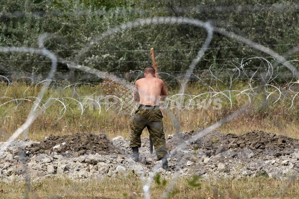 ロシア、アブハジア・南オセチアと外交樹立 軍部隊7600人駐留