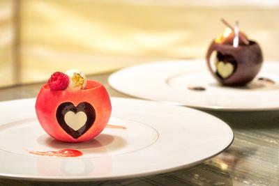 「ベージュ アラン・デュカス 東京」バレンタイン特別メニュー&デザートをチェック