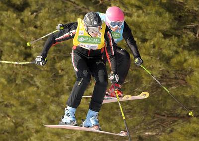 マカイバー 女子スキークロスで優勝、フリースタイルスキー世界選手権