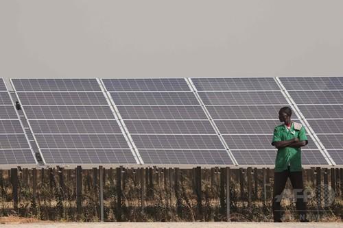西アフリカ最大の太陽光発電所、運転開始 ブルキナファソ