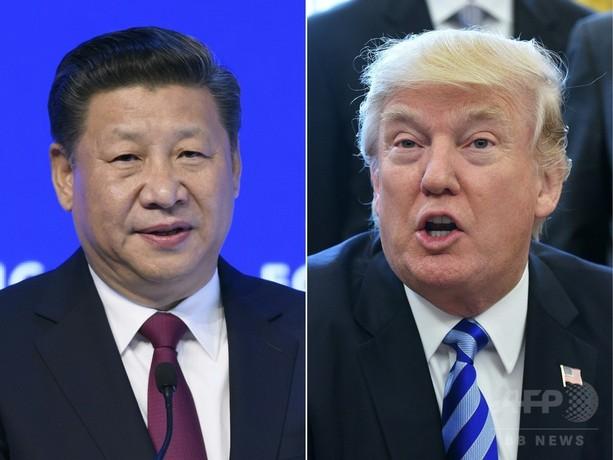 北朝鮮核問題、米単独で対処も トランプ大統領が中国けん制