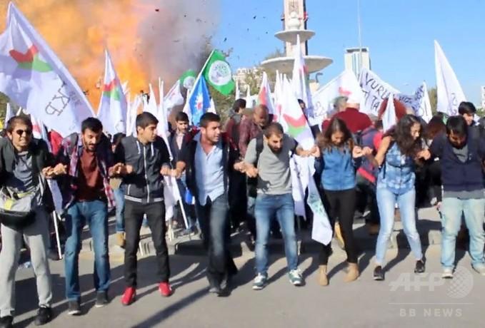 トルコ首都連続爆発、死者95人 負傷者246人に