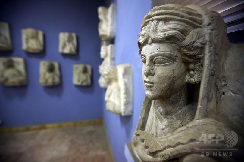IS、古代都市パルミラを完全制圧 シリア領土の半分支配下に