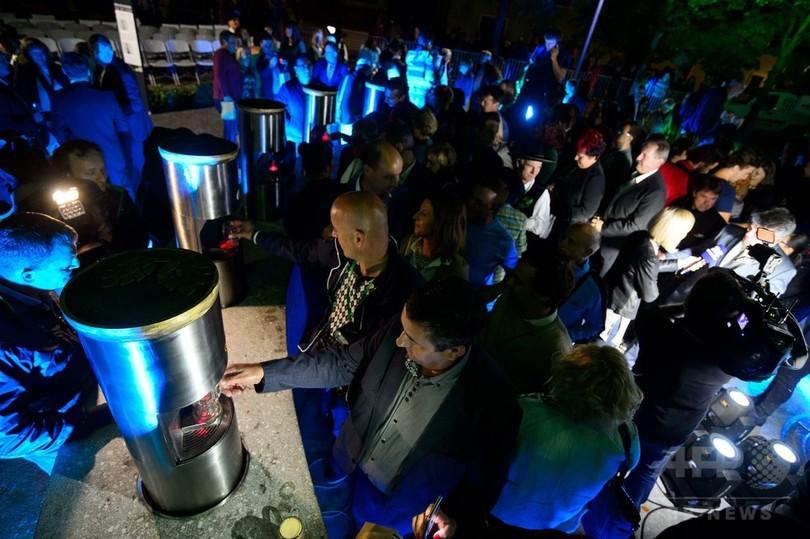 ビール好きの夢? スロベニアに「ビールの噴水」が完成 写真15枚 国際 ...