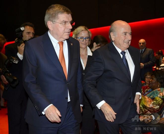 IOC会長、FIFAの信頼回復は「ソルトレークの改革を参考に」