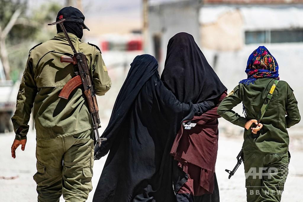 IS、クルド人勢力拘束の女性ら「解放」と発表 シリア