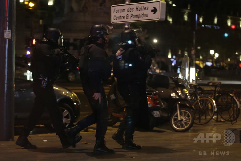 イスラム過激派の疑い、150か所を家宅捜索 フランス
